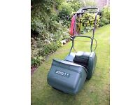 FOR SALE ATCO WINDSOR 14S ELECTRIC LAWNMOWER AND SCARIFIER