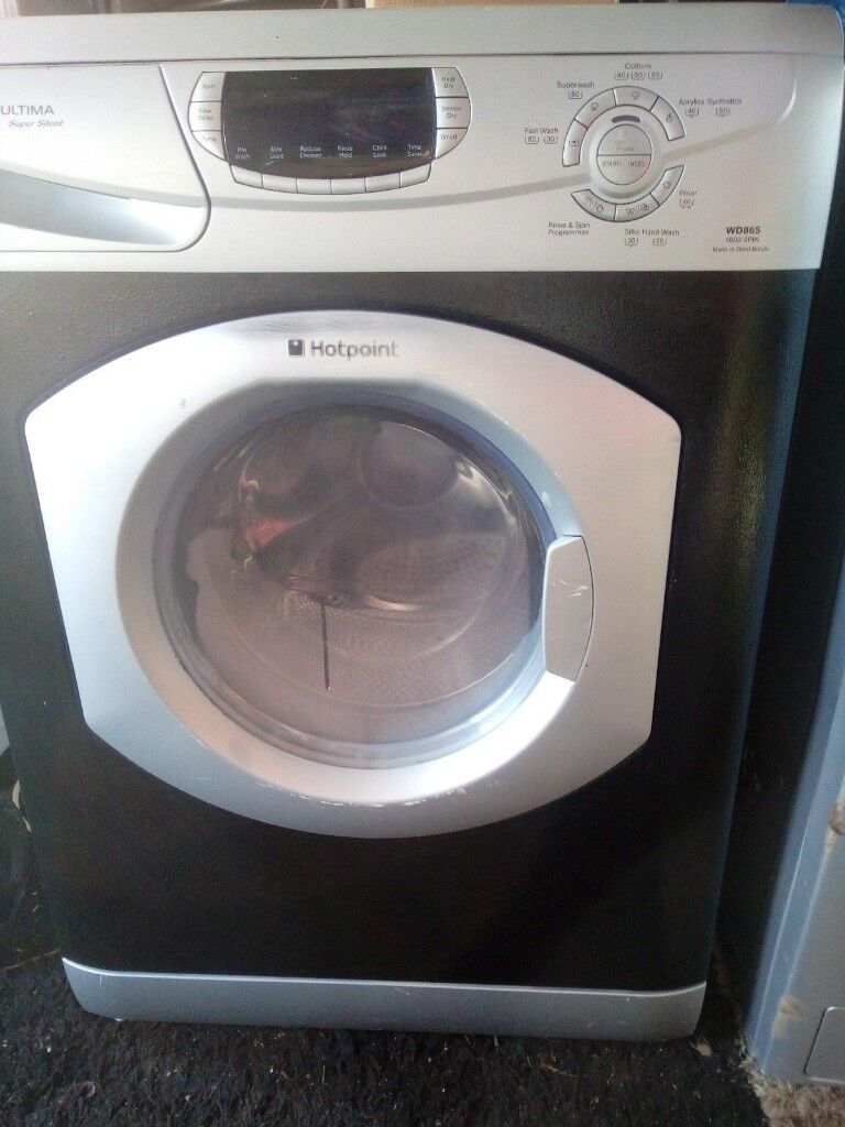 f6f081742bce Washer-dryer (washing machine + Dryer) All-in-1, Hotpoint WD865,  silver-black