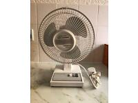 Stirflow electric fan with good power 2 speed setting in good working order