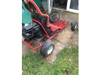 Petrol buggy off road go kart Briggs Stratton kids child