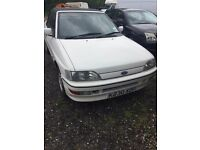 Classic Ford MK5 escort XR3i convertible, Good service history with vehicle, low mileage