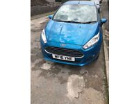 Ford Fiesta 2016 Candy Blue 1.25 Zetec 5 Door only 16k miles Full service history 1 previous owner