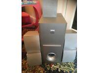 Sanyo surround sound speaker system,