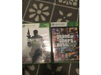 Call of duty 3 and grand theft auto 5