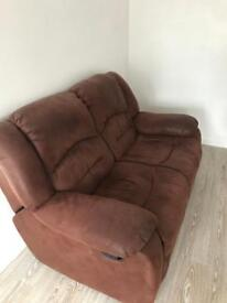 Free to uplift - 2 seater recliner sofa