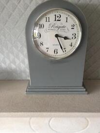 Grey mantle clock