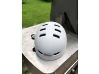 Bell FACTION cycle helmet, size Small, white