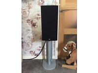 Bowers and Wilkins full speaker system including centre speaker and Yamaha amp