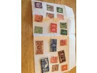 Varied stamp collection