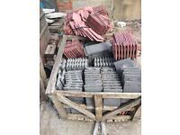 Loads off building materials