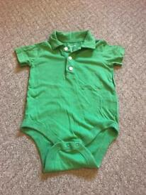 Gap green baby grow 18-24 months