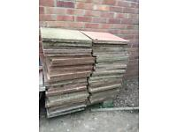 Sold subject to collect - Free- Paving slabs