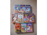Job lot of 10 Disney VHS Videos