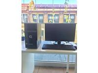 Hp compaq PC + acer monitor + original windows 8