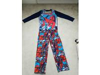 Marvel Comics Spiderman Pyjamas Age 11-12