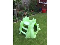 Baby/ Toddler Dinosaur slide