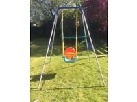 #### SOLD #### 3 in 1 swing in used condition