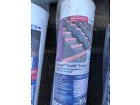 Tyvek roofing paper 4 rolls