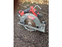 Milwaukee fuel 18v circular saw