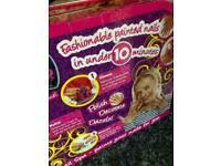 Easy Nail Spa Kit Kids Girls Children Toy Fun Play Game Polish Craft Art Gift