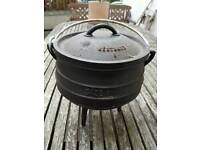 Cast Iron Potjie Pot Size 1