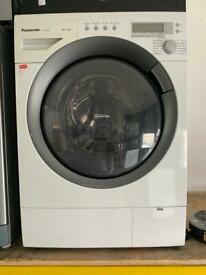 Panasonic white good looking 8kg washing machine