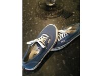 Vans shoes size 6 as new