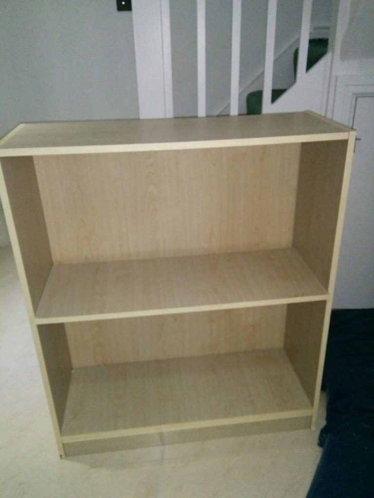 Small Bookcase Bookshelf 78cm Wide 92 High 29 Deep 1 Adjustable Shelf Txt For