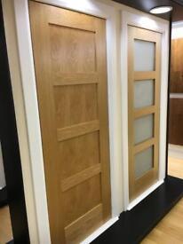Super sale on pre finished oak shaker doors