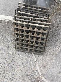 Driveway gravel grids