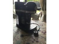Lovely Nespresso artisan coffee machine by KitchenAid in Onyx Black