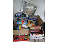 50-60 Board Games and Jigsaws - Some Great Items - Good Profit Maker or Car Boot Lot