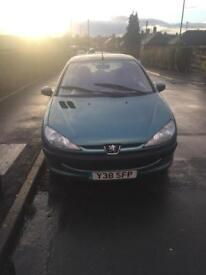 2001 Peugeot 206 1.4 lx £300 Ono ,good little runner needs slight tlc