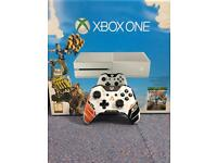 Snowstorm White Xbox One Mint condition with box