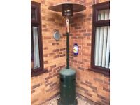 Patio Heater and Calor Gas Bottle