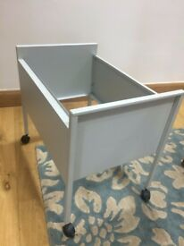 FREE GREY METAL FILING TROLLEY | filing cabinet | office storage