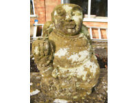 S O L D STONE HAND CARVED BUDDHA STATUE