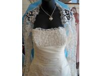 Brand new W1 Wedding Dress and Bolero