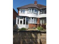 TO LET - 3 Bedroom House - Handsworth - B21