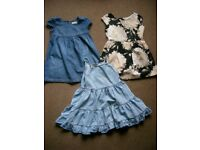 Small bundle girls dresses age 4-5 years