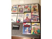 Sega master system 2 games message me for a price