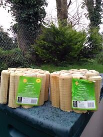 Wooden border rolls