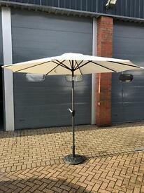 3m Parasol With Crank Including Base