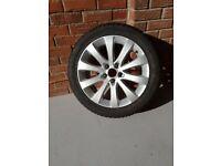 Vauxhall Meriva Alloy Wheel & Tyre
