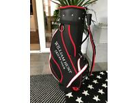 Trilby tour golf bag. Excellent Condition. Used once. With rain cover.