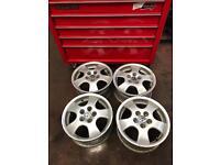 """Genuine Volkswagen alloy wheels 16"""""""