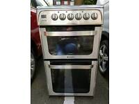 Electric Double Oven, grill and ceramic hob