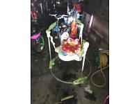 Jumperoo bouncy baby toy chair