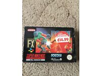 SNES SUPER NINTENDO DOOM BOXED COMPLETE