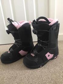 Salomon Ivy Boa Snowboard Boots - Size 7, Women's